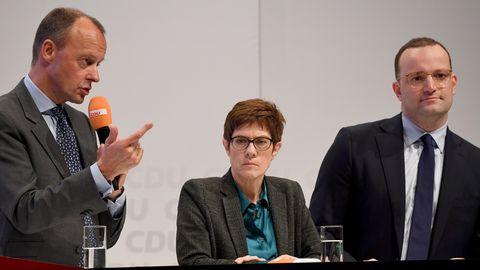 CDU-Regionalkonferenz: Merz, AKK oder Spahn - wer hat gepunktet?