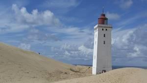 Rettungsaktion für berühmten dänischen Leuchtturm