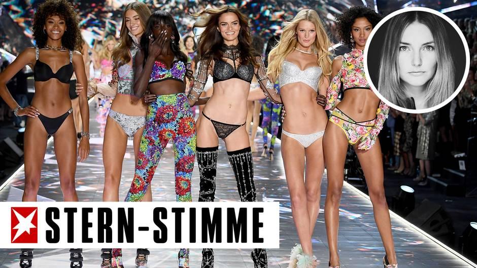 Models auf dem Laufsteg von Victoria's Secret