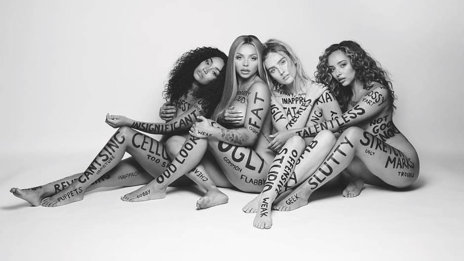 #StripWithLittleMix: Girlband vollgekritzelt mit Beleidigungen: Warum dieses Nacktfoto wirklich was bewegt