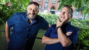 Starkoch Tim Raue und Schauspieler Kida Ramadan im stern-Interview
