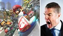 """In dem offiziellen Stream von Nintendo Russland sollte eigentlich """"Mario Kart"""" gespielt werden. Dann kam der Chef. (Symbolbild)"""