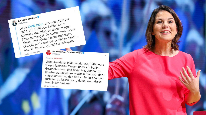 Bahn lässt Kinder von Grünen-Chefin Annalena Baerbock am Bahnhof stehen