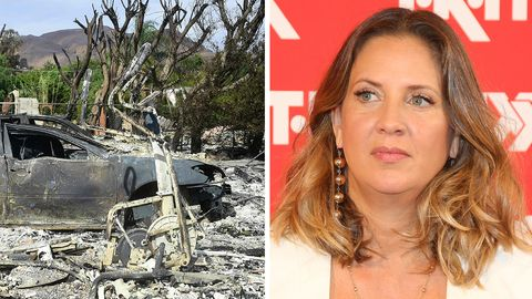 Wegen der Feuer in Malibu mussten Dana Schweiger und ihre Kinder ihr Haus evakuieren