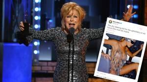 Show-Ikone Bette Midler spottet auf Twitter über Melania Trump - das sorgt nicht nur für Lacher