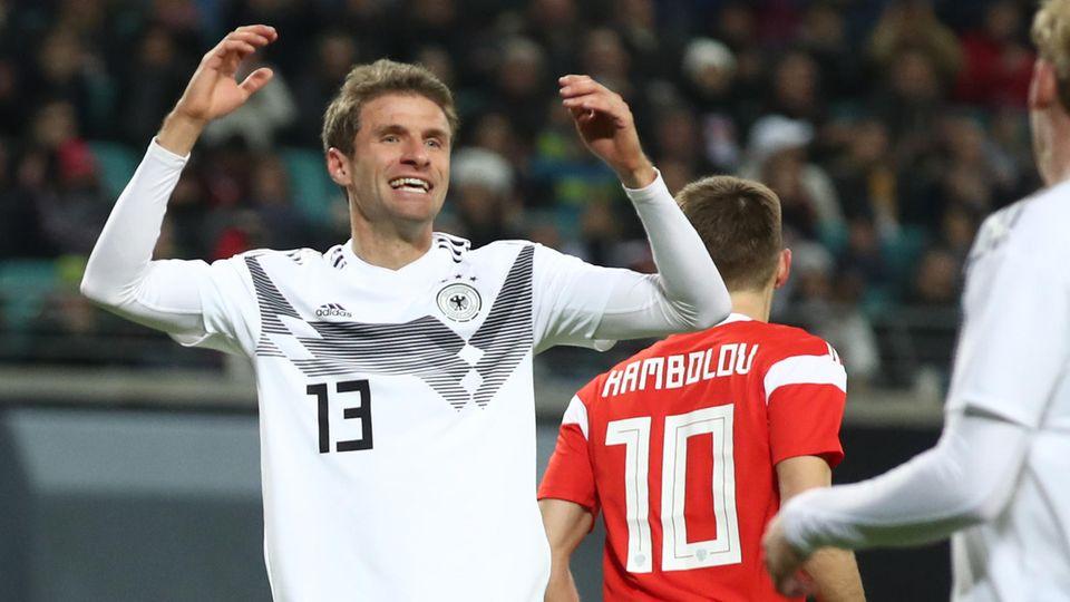 Vor 100. Länderspiel: Thomas Müller stand für den Erfolg des DFB-Teams. Nun steht er für dessen Absturz.