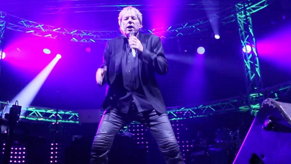 Bernhard Brink bei seinem Auftritt bei der Schlagerwelle 2018