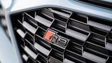 Das Wabenmuster im Kühlergrill des Audi R8 2018