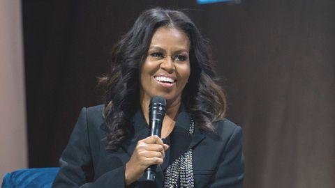 Die ehemalige First Lady der USA, Michelle Obama, in derCapital-One-Arenain Washington
