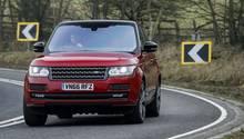 Der Range Rover ist in Kuwait ein großer Konkurrent des Porsche Kuwait