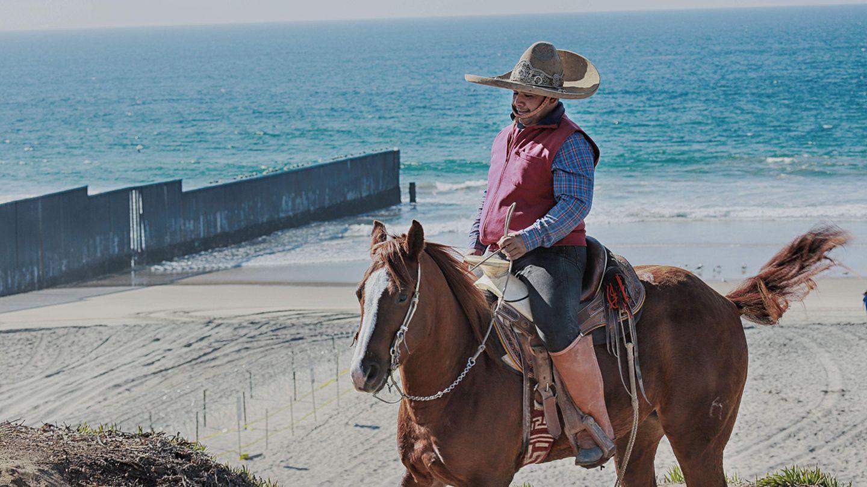 Reiter an Grenze in Kalifornien