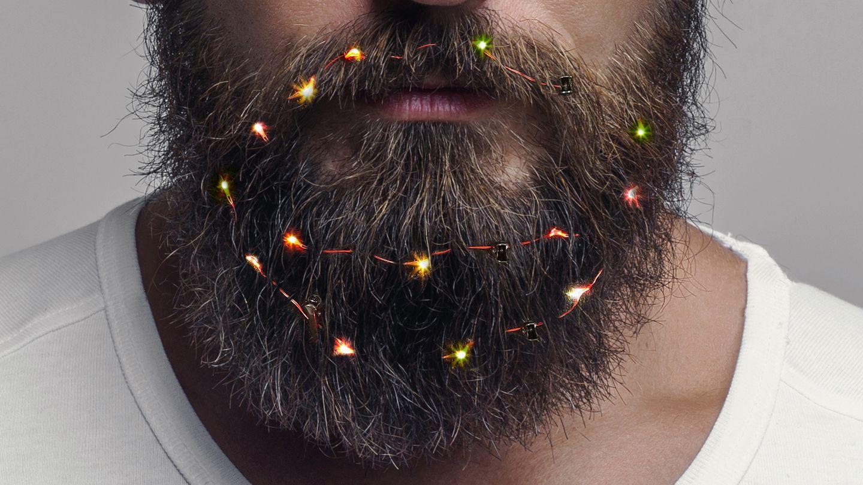 Bart-Lichterkette