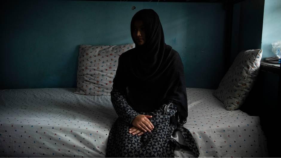 Anisa aus der Provinz Baghlan