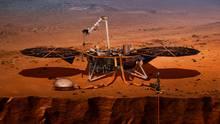 "Visualisierung des Nasa-Landers ""Insight"""