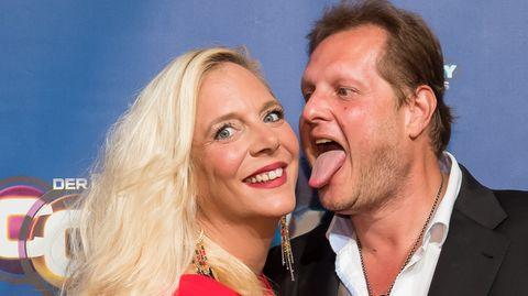 Jens Büchner und seine zweite Frau Daniela