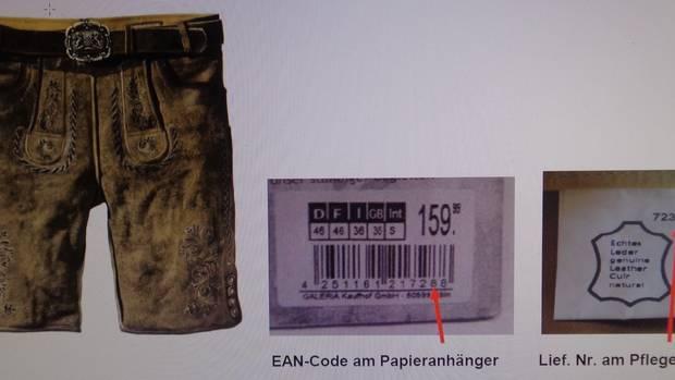 Hersteller Original Stockerpoint ruft die kurze Herrenlederhose zurück