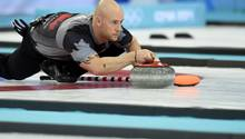 Curling-Olympiasieger Ryan Fry hat auf dem Eis randaliert