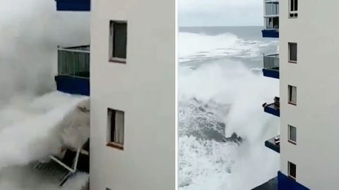 Oscar Serra: Nachwuchs-Surfer stirbt nach Sturz von Riesenwelle