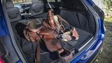 Viel Platz im Laderaum des Mercedes-Benz GLE - nicht nur für den Sattel