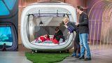 Sleeperoo: Mit den Zelt-Cubes vonKaren Löhnert und Dennis Brosseit können Kunden an ungewöhnlichen Orten übernachten. Dagmar Wöhrl gefiel die Idee und schloss den Deal. Im Nachgang hat sich die Hotelkette Dormero, die von Wöhrls Sohn geführt wird, an dem Start-up beteiligt.