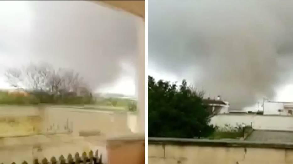 Taurisano: Tornados in Süditalien hinterlassen Schneise der Verwüstung