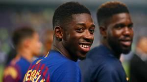 Ousmane Dembélé ist den Fans vom BVB ob seines unschönen Abgangs in keiner guten Erinnerung geblieben