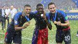 Ousmane Dembélé bei der WM