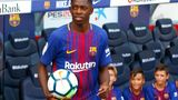 Ousmane Dembélé beim FC Barcelona