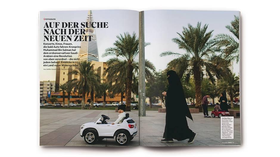 Tasneem Alsultans Fotoreportage im STERN 08/2018