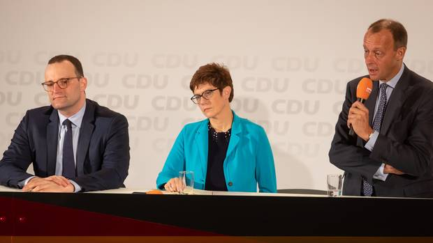 Kandidatenkür der CDU - und wieder geht es nur um die Flüchtlingsfrage