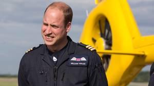 Prinz William arbeitete von 2015 bis 2017 als Rettungspilot