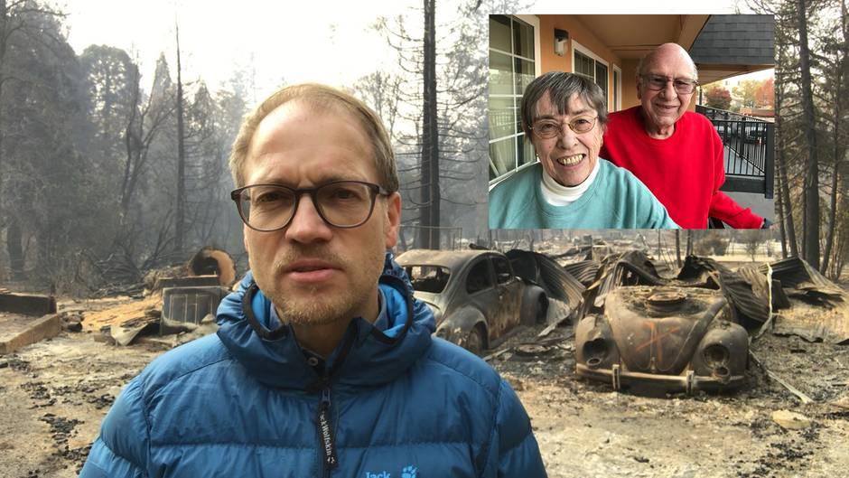 Nach Waldbränden in Kalifornien: stern-Reporter sucht Haus eines Ehepaares – und macht eine unglaubliche Entdeckung
