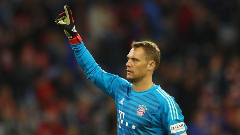 Manuel Neuer im Spiel gegen die TSG Hoffenheim
