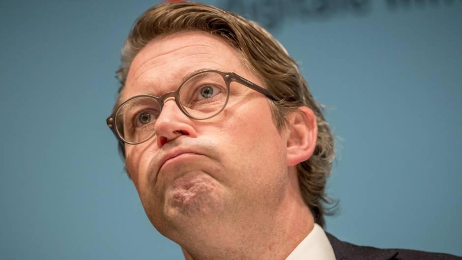 Verkehrsminister Andreas Scheuer wusste nichts von einem Dieselgipfel