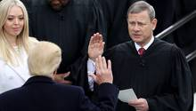 John Roberts Vereidigung Donald Trump