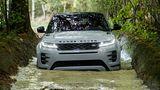 Range Rover Evoque 2019 - die Wattiefe liegt bei 60 cm
