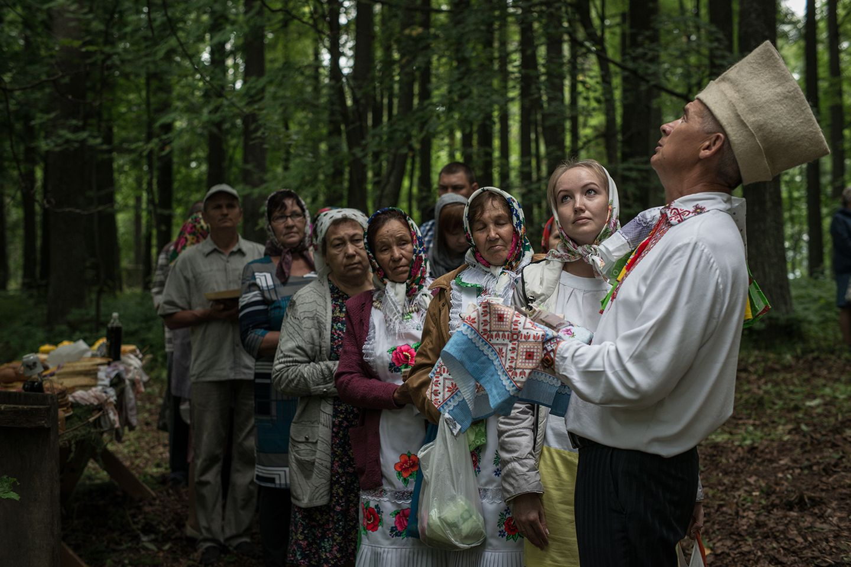 In Russland in der Republik Mari El lebt das heidnische Volk der Mari