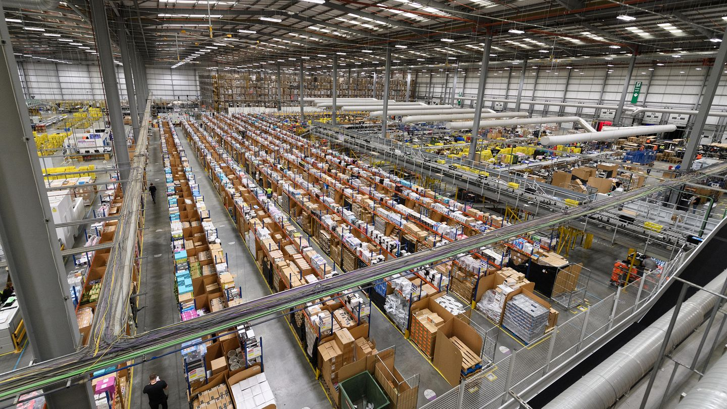 Black Friday: Amazon-Lager in England
