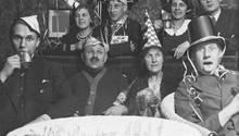 Eine Familienfeier in den 30er Jahren