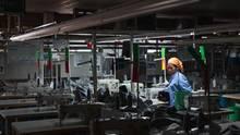 Phnom Penh, Kambodscha: Besuch in einer Fabrik der Firma Seduno