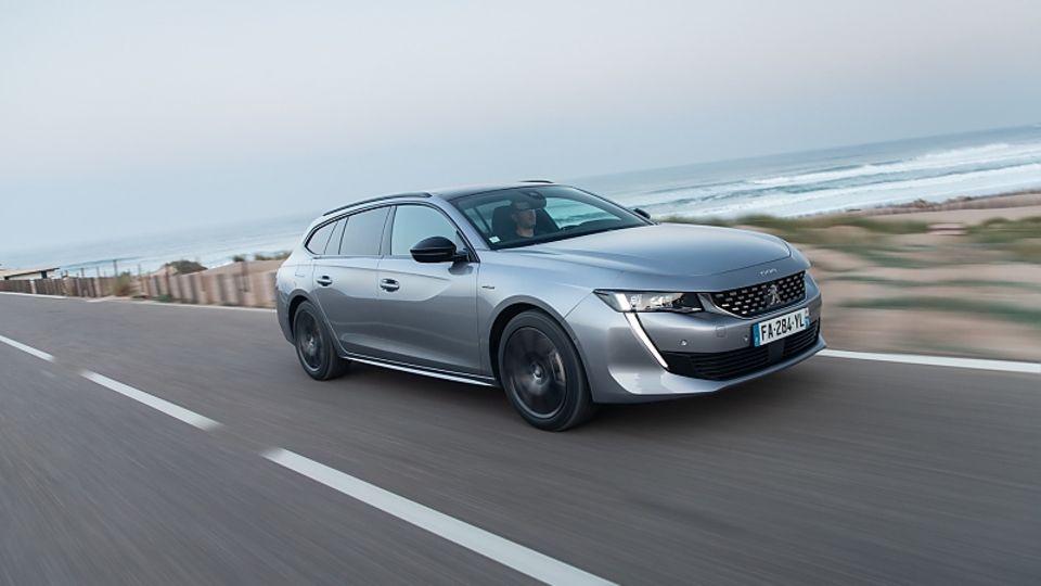 Peugeot 508 SW 1.5 Blue HDI - startet bei rund 33.000 Euro