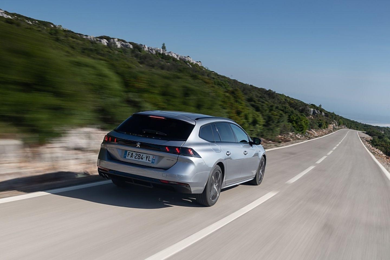 Peugeot 508 SW 1.5 Blue HDI - optisch ebenfalls gefällig