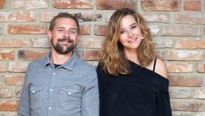 Katrin Bauerfeind und Klaas Heufer-Umlauf