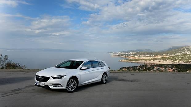 Der Opel Insignia Sports Tourer 1.6 DIT ist laufruhig