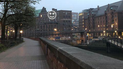 """Hamburg: Kunstprojekt """"Public Face"""""""