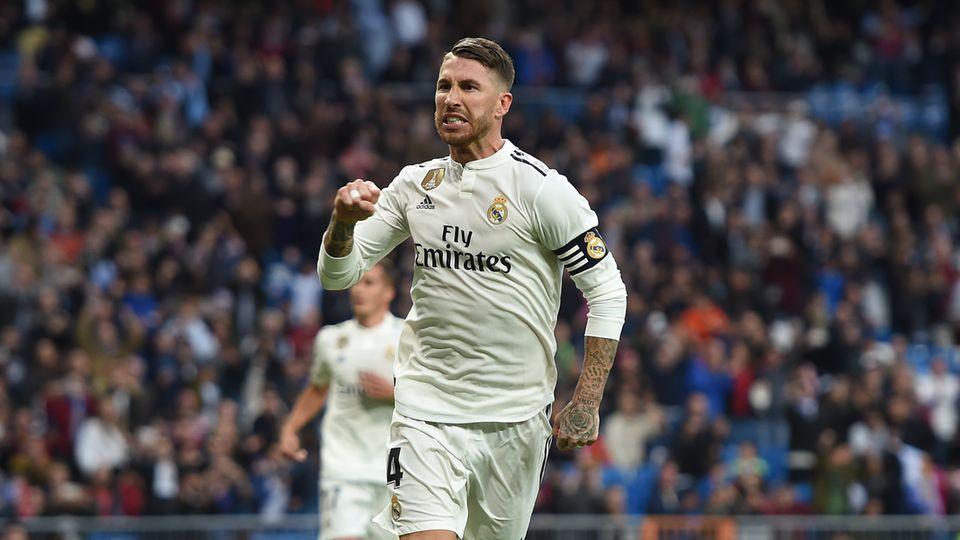 Sergio Ramos von Real Madrid