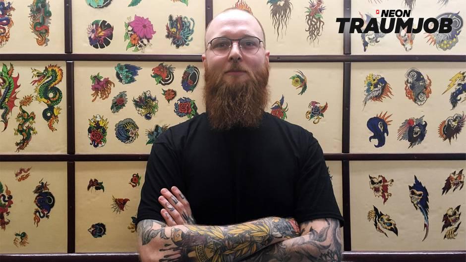 Traumjob Tätowierer Wie Kommt Man Zu Einem Job Im Tattoo Studio Neon