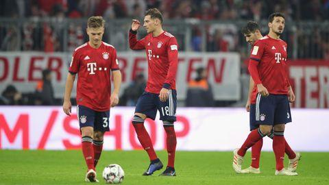 Der FC Bayern München blamiert sich gegen Fortuna Düsseldorf