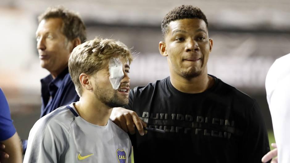 Copa Libertadores - Riva Plate - Boca Juniors - Ausschreitungen