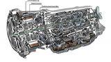 Der Elektromotor ist in das Getriebe integriert
